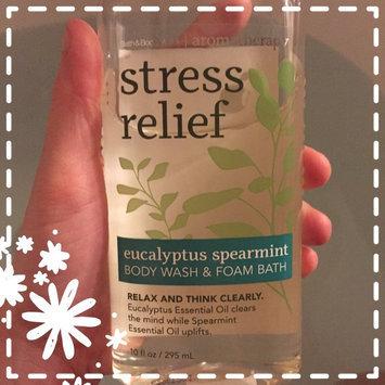 Photo of Bath & Body Works Aromatherapy Stress Relief Eucalyptus Spearmint Body Wash & Foam Bath uploaded by Kelsea C.