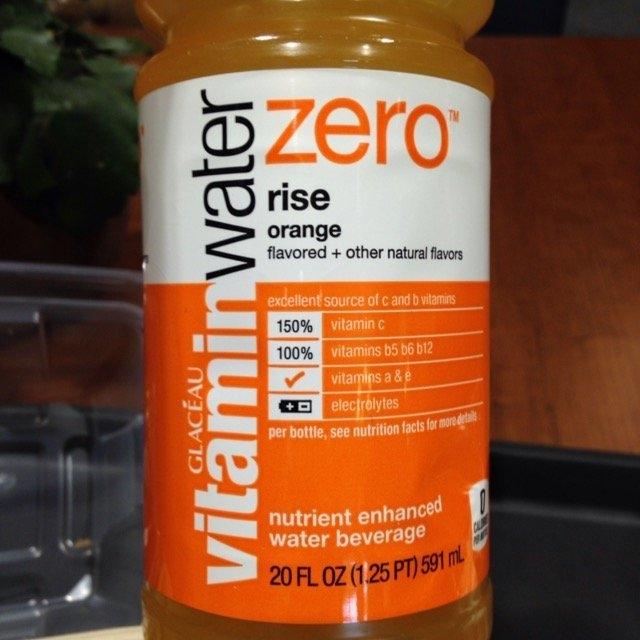 vitaminwater Zero Rise Orange uploaded by Billie S.