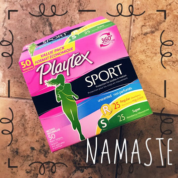 Photo of Playtex Sport Tampons uploaded by Julie P.