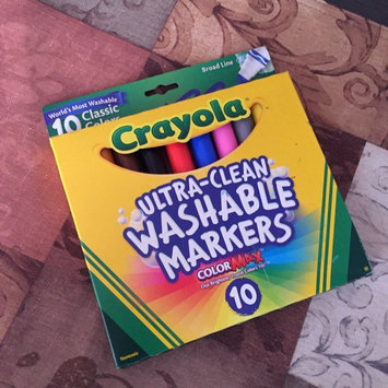 Photo of Crayola 10 Ct Ultraclean Broadline Classic uploaded by Nora B.