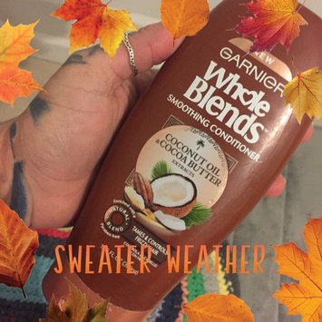 Photo of Garnier Whole Blends Coconut Oil & Cocoa Butter Extracts Smoothing Conditioner uploaded by Haley E.