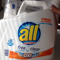 all® free clear OXI Laundry Detergent 84 Loads 150 fl. oz. Bottle uploaded by Danielle C.