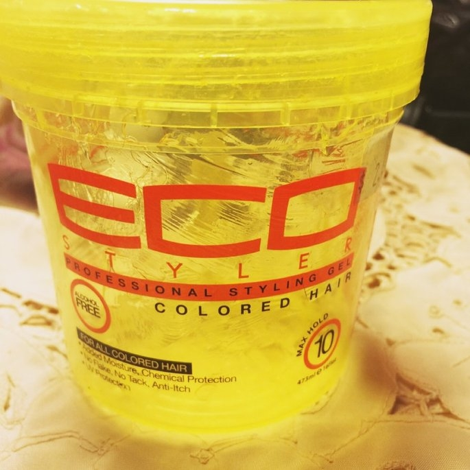 Ecoco Eco Styler Styling Gel Yellow 16 oz uploaded by Richelle B.