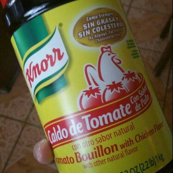 Knorr Hispanic Tomato W/Chicken Flavor Bouillon 35.3 Oz Jar uploaded by Teresa M.