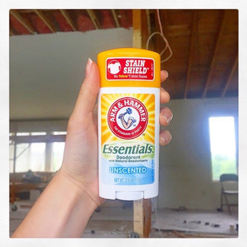 Photo of ARM & HAMMER™ Essentials™ Solid Deodorant Unscented uploaded by Cristina C.