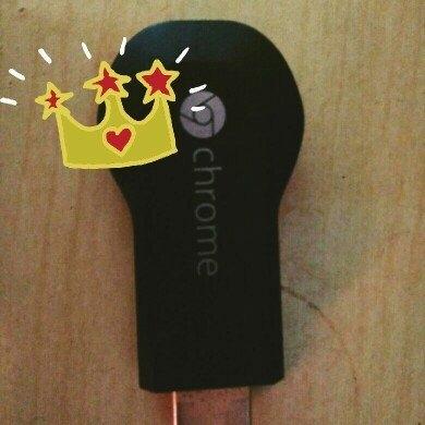 Chromecast uploaded by Claudia D.