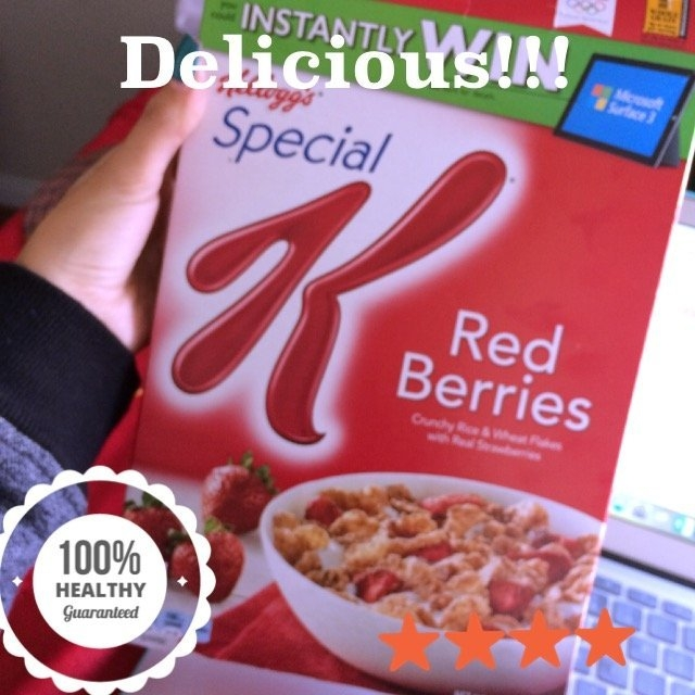 Kellogg's Special K Red Berries Cereal uploaded by Juliana T.