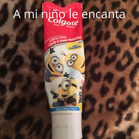 Colgate Kids Minions Power Toothbrush + Colgate Minions Mild Bubble Fruit Fluoride Toothpaste, 4.6 oz uploaded by Lucia G.