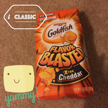 Pepperidge Farm Goldfish: Flavor Blasted Xtra Cheddar Baked Snack Crackers uploaded by Rachel S.