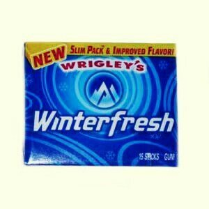 Wrigley's Winterfresh Gum uploaded by Shontay h.