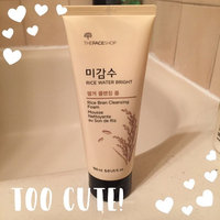 [The Face Shop] Rice Water Bright Rice Bran Cleansing Foam uploaded by Rebecca Z.