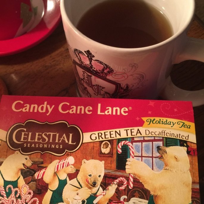 Celestial Seasonings Candy Cane Lane Decaf Green Tea uploaded by Wendy C.