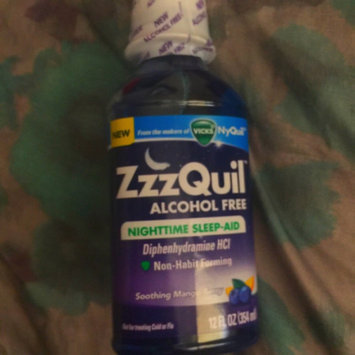 Photo of ZzzQuil™ Soothing Mango Berry Alcohol Free Liquid uploaded by Angel R.