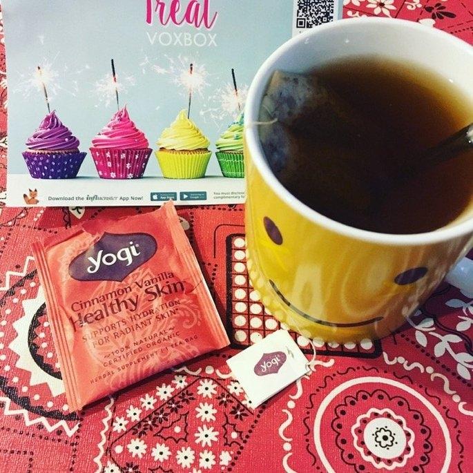 Yogi Tea Cinnamon Vanilla Healthy Skin uploaded by Mack G. B.