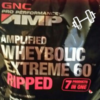 GNC Pro Performance AMP Amplified Whey-Bolic Extreme 60 Ripped Powder, French Vanilla, 1.12 Pound [French Vanilla] uploaded by Melissa B.