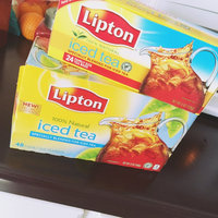 Lipton® Iced Black Tea Family Size Tea Bags uploaded by Amanda G.