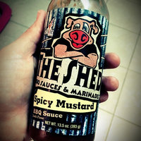 The Shed Barbeque & Blues Joint Junk-Free BBQ Sauce Spicy Mustard uploaded by Rachel B.