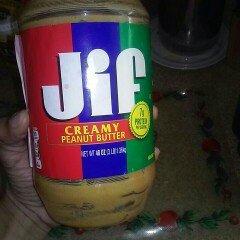 Jif Creamy Peanut Butter Spread uploaded by Guy G.