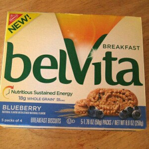 Photo of belVita Blueberry Breakfast Biscuits uploaded by Adrianna R.
