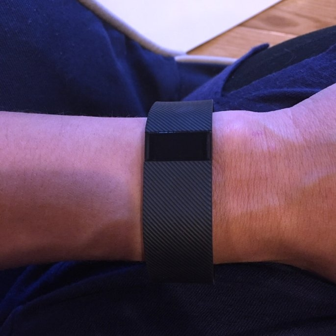 Fitbit - Charge Wireless Activity Tracker + Sleep Wristband (small) - Black uploaded by Rachel F.