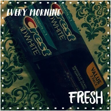 Crest 3D White Whitening Toothpaste Radiant Mint uploaded by Alma R.