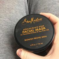 SheaMoisture African Black Soap Problem Skin Facial Mask uploaded by Kacee P.
