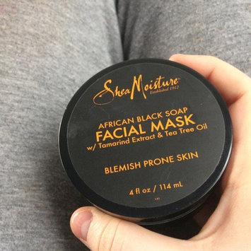 SheaMoisture African Black Soap Problem Skin Facial Mask uploaded by Kacee P.
