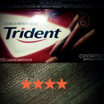 Trident Cinnamon Gum uploaded by Deana C.