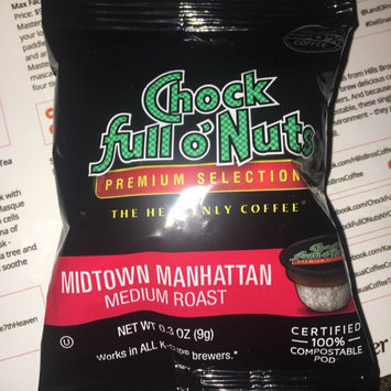 Photo of Chock Full o'Nuts Medium Roast Coffee Midtown Manhattan Single Serve Cups uploaded by Emily R.