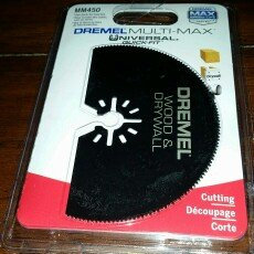 Photo of Dremel 3in. Wood & Drywall Saw Blade MM450 uploaded by John P.
