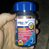 Equate - Pain Reliever PM Nighttime Sleep Aid, Extra Strength, Acetaminophen 80 Gelcaps uploaded by Tiffany M.