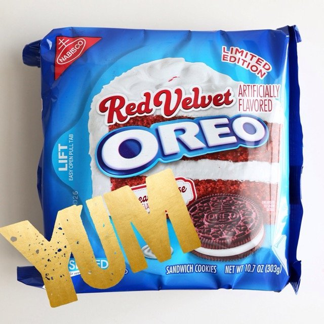 Oreo Red Velvet Sandwich Cookies uploaded by Arliss A.