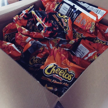 CHEETOS® Crunchy XXTRA FLAMIN' HOT® Cheese Flavored Snacks uploaded by Erika A.