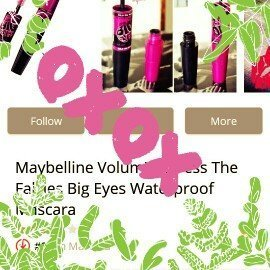 Maybelline New York Volum' Express The Colossal Washable Mascara uploaded by alejandra m.