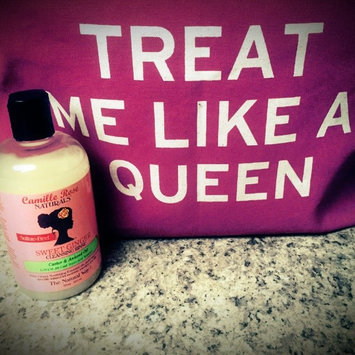 Photo of Camille Rose Sweet Ginger Sulfate Free Cleansing Rinse 12 oz uploaded by Aishah A.