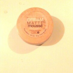 Maybelline New York Dream Smooth Mousse Foundation, Nude Beige, 0.49 Ounce, 2 Ea uploaded by Trish S.