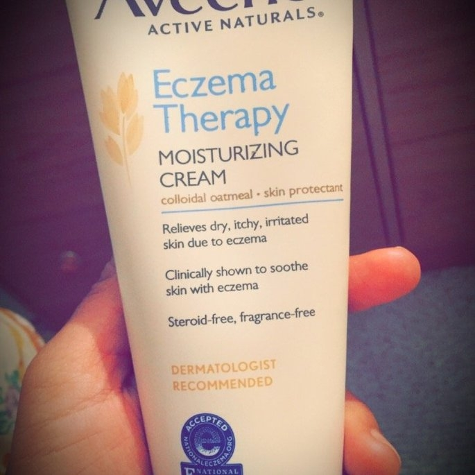 Aveeno Active Naturals Eczema Therapy Moisturizing Cream uploaded by Jasmine O.