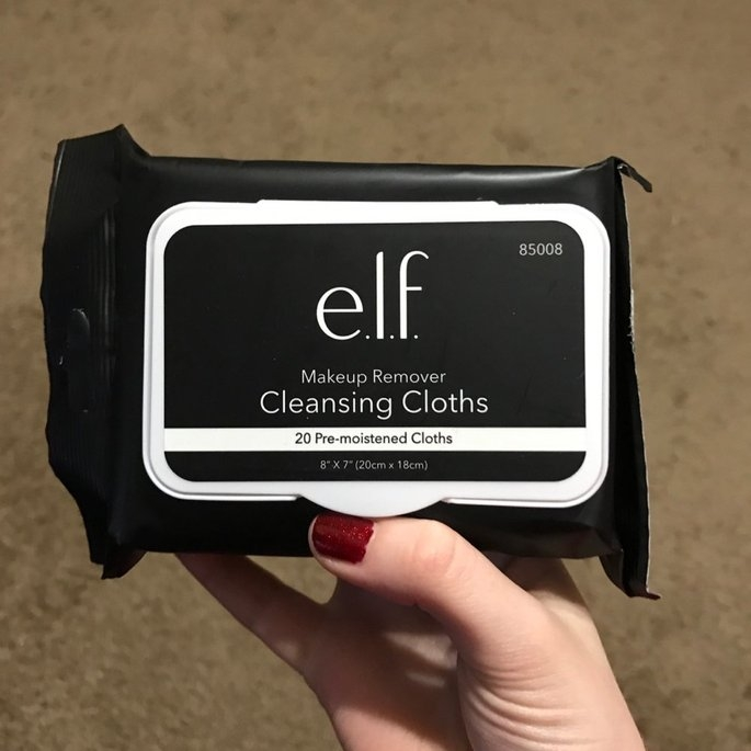 e.l.f. Studio Makeup Remover Cleansing Cloths uploaded by Hannah S.