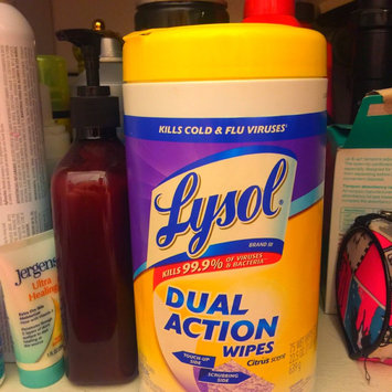 Lysol Dual Action Disinfecting Wipes uploaded by KeiSha G.