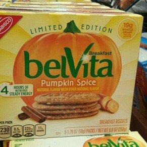 Photo of Nabisco belVita Breakfast Biscuits Pumpkin Spice uploaded by Preston N.