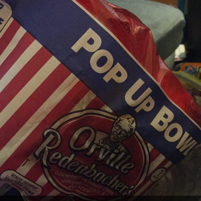 Orville Redenbacher's Movie Theater Butter Popcorn Pop Up Bowl - 3 CT uploaded by Mesha T.