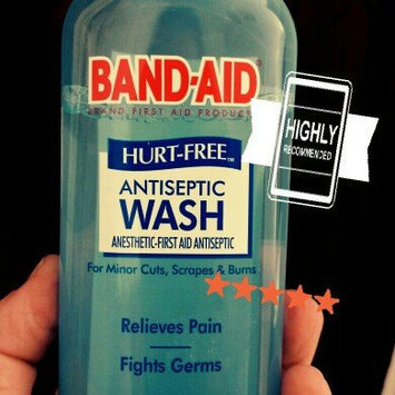Band-Aid® Brand First Aid Hurt-Free™ Antiseptic Wash Wound Cleansing 6 Fl Oz Plastic Bottle uploaded by Nichole M.