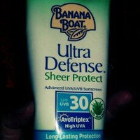 Banana Boat Ultra Defense Sheer Protect Advanced Sunscreen Lotion uploaded by Rachel D.