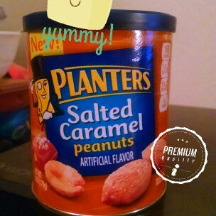 Photo of Planters Salted Caramel Peanuts Can uploaded by Mara K.