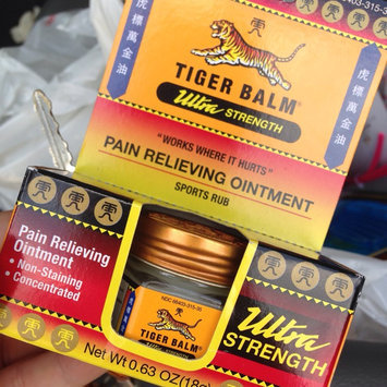 Photo of Tiger Balm Ultra Strength Ointment uploaded by Ashley L.