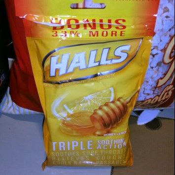 Photo of HALLS Honey Lemon Cough Menthol Drops uploaded by Keila G.