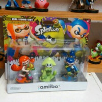 Nintendo - Amiibo Figures (splatoon Series Inkling Girl/inkling Squid/inkling Boy) - Multi uploaded by Patricia D.