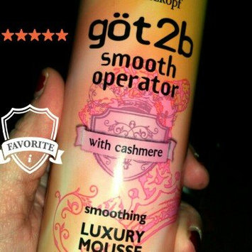 göt2b Smooth Operator Smoothing Luxury Mousse, 9-Ounce uploaded by Heather K.