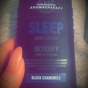 Photo of Bath Body Works Bath & Body Works Aromatherapy Lotion Black Chamomile uploaded by Kayla H.