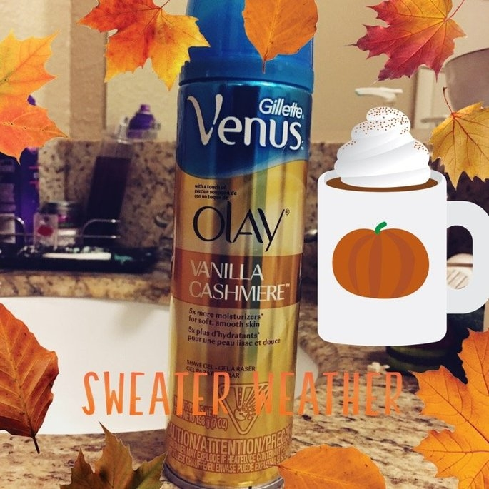Gillette Venus® with a touch of Olay® Vanilla Cashmere™ Shave Gel uploaded by Beth M.